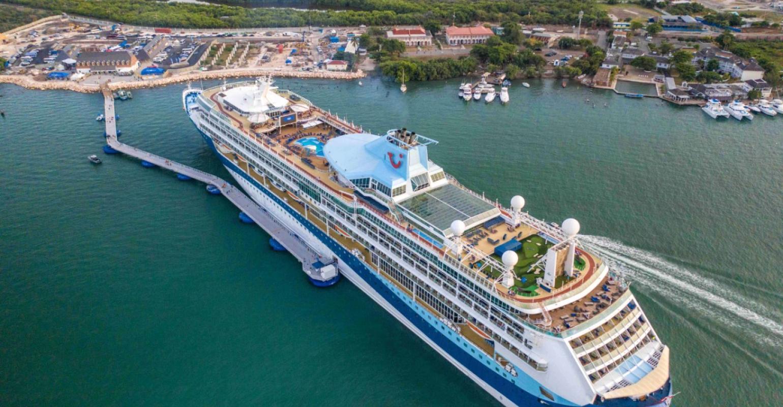 Marella Discovery 2 at Port Royal Jamaica_