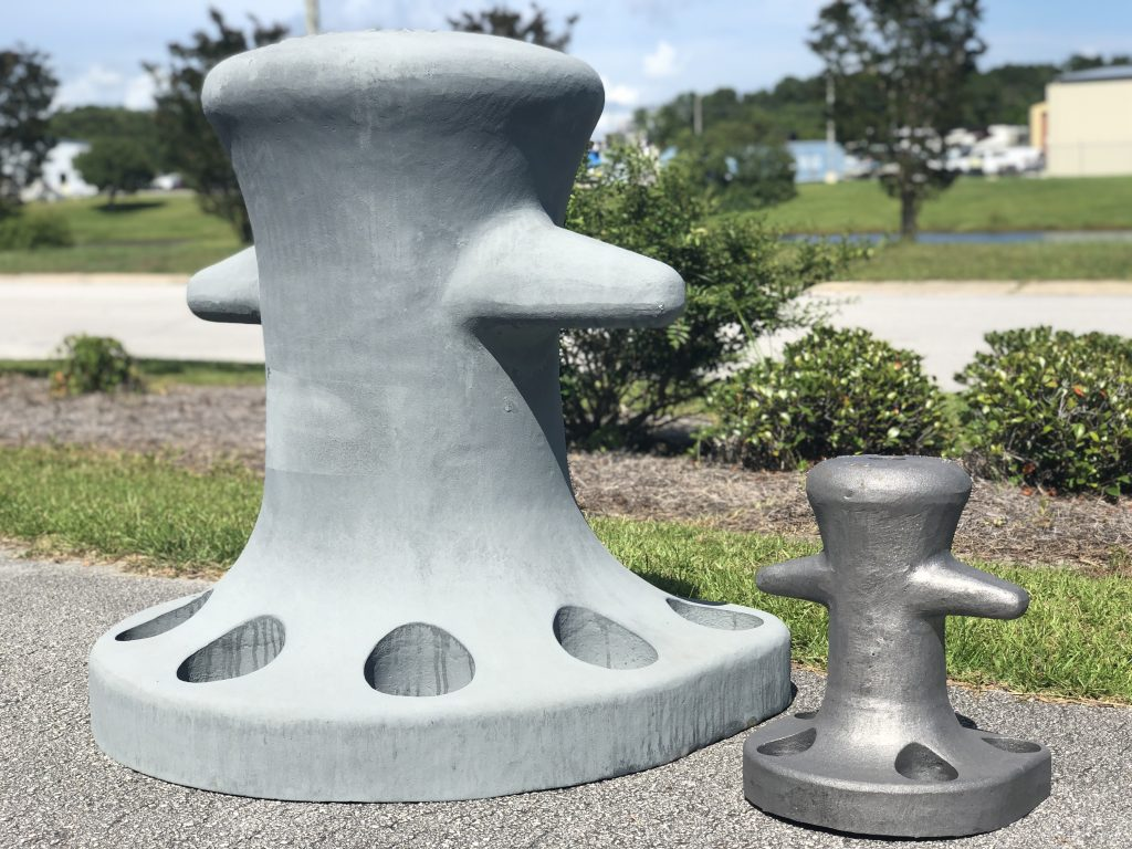 Oneida Lake in Central New York Marine Bollards